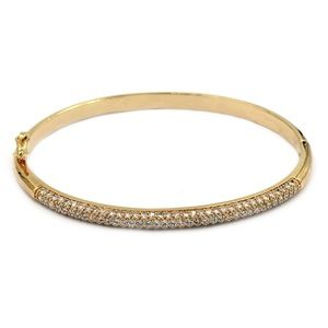 Fashion micro-small gold crystal bracelet